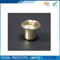 China Natural Color Prototype CNC Machining Services Copper Raw Material Small Size on sale