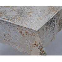 Golden and Silver Inlaid PVC Table Cloth Manufactures