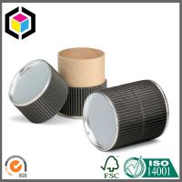 Buy cheap Black Color Food Grade Cardboard Paper Tube; Recyclable Paper Packaging Tube from wholesalers