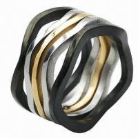 Stainless Steel Rings, OEM and ODM Orders Welcomed Manufactures