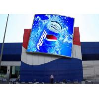 DIP346 1R1G1B 10mm Led Screen , Large Outdoor Advertising Screen High Refresh Rate Manufactures
