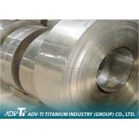 Cold Rolled Titanium Foil Sheet ASTM B265 Pickling / Sand-blasted for Industrial Manufactures