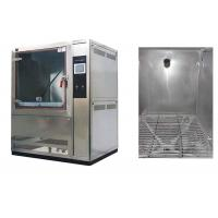 China 1000L Volume Dust Test Chamber AC380V 50 / 60Hz With Centrifugal Fan Blower on sale