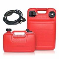 China Portable Boat Fuel Tank Marine boat PE fuel tank 12L/ 24L oil tank with fuel pipe in side for Outboard Motor on sale