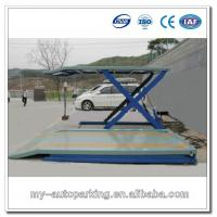 Scissor Multipark Car Garage 2 Level Parking Lift Manufactures