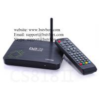china wholesales watch tv online by internet box CS818 Manufactures