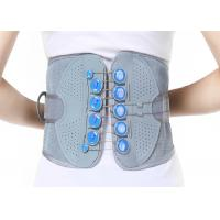 Woven Fabric Waist Support Belt / Lumbar Support Brace Perfect Fit Body Manufactures