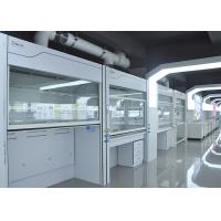 China Stainless Steel Walk In Fume Hood Laboratory Furniture Type Exhuast Air R 1500-3000m³/h on sale