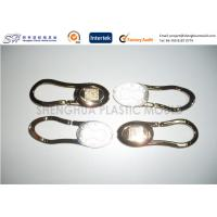 China ABS Plastic Moulded Components / Parts for Gold Plated Keychain LED Light Precision on sale