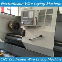China Electrofusion pad wire laying machine-PE Electro Fusion Fittings Equipment on sale