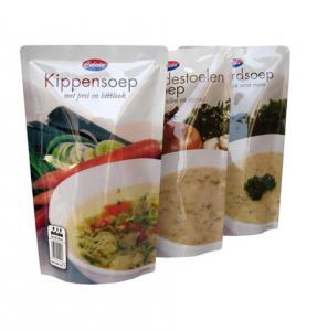Microwave Food Vacuum Seal Bags With Zipper Top
