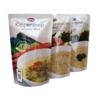 Quality Microwave Food Vacuum Seal Bags With Zipper Top for sale