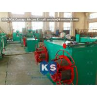Stable Output Pvc Coated Gabion Mesh Machine , High Speed PVC Coating Line Manufactures