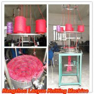 China Match Color Scarf Knitting Machine on sale