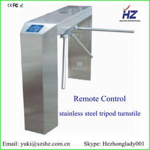 China GB 304 stainless steel bridge tripod turnstile price on sale