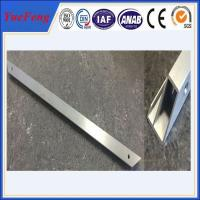 Best selling products raw aluminum price per kg / cnc deep hole drilling bending Manufactures