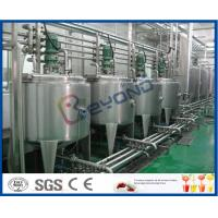 Quality 3000 - 20000BPH Beverage Production Line with SUS304 SUS316 Stainless Steel for sale