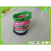 Modern Silicone Balance Bracelet , Comfortable Custom Silicone Wristbands Manufactures