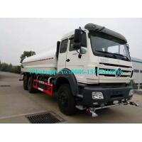China Powerful Off Road Water Cart Truck , 25000L Water Transport Truck Optional Color on sale