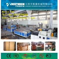 WPC Waterproof Eco-Friendly Texture Interior Decorative Wall Panels machine Manufactures