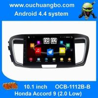 China Ouchuangbo android 4.4 for Honda Accord 9 (2.0 Low) car DVD Audio Stereo 3G Wifi BT on sale