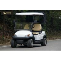 China AC System 2 Passenger Golf Buggy With Rear Cover , Automotive Paint Body Finish on sale