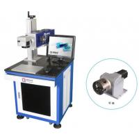 China Co2 Laser Marking Machine 10W Air Cooled For Epoxy Resin 0.05mm Min Linewith on sale