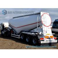 3 Axle 40 m3 Dry Bulk Tanker V Shape Lifting Cement Tank Container Manufactures