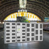 Automatic Vegetable Vending Lockers , Outdoor Locker Systems CE / FCC / ISO Manufactures