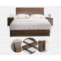 Quality Cheap style rent Apartment home furniture melamine plate bed 1.2m- 1.5m-1.8 m for sale