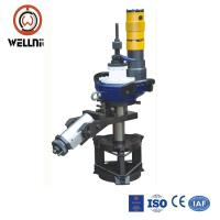 Low Noise Pipe Automatic Beveling Machine Low Friction Adjustable Bearing System Manufactures