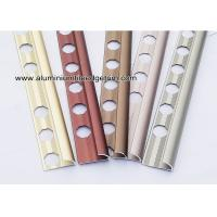 Anodized Matt Color Aluminium Corner Molding Trim For Tile Edging Manufactures