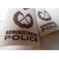 High Density Screen Printed Clothing Labels Police Shoulder Patches Manufactures