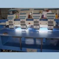 China Flat and Hat Function Computerized Embroidery Machine, Japan Original Rotary Hook and Bobbin Case on sale