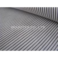 Good Quality Normal Soft Cotton Nylon Fabric / Spandex Stripe Fabric, Dobby Weave Manufactures