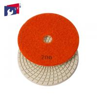 Economic Loop Tape 3 Inch Polishing Pads High Gloss With Spiral Shape Manufactures