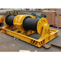 Cable Pulling Double Drum Electric Winch for heavy industry use Manufactures