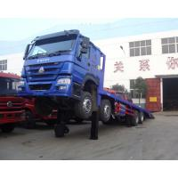 HOWO Cargo Container Truck / Safety 40 Tons Container Transport Truck ZZ1257M4641V/M Manufactures