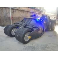 event party deco  batman's car model carmobile as decoration statue in shop/ mall /event celebrity activity Manufactures