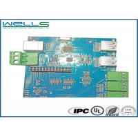 Industrial 6OZ Custom Circuit Board Assembly FR-4 Base Material Manufactures