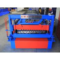 China Corrugated Roof Making Machine European Style , Corrugated Panel Roll Former on sale