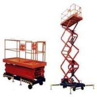explosion-proof Mobile scissor lift / hydraulic aerial lift / electric elevated platform Lifting height 4 - 20m Manufactures