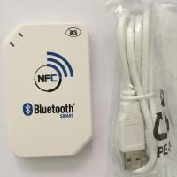 China ACR1255 13.56mhz RFID Card Reader Writer USB interface for wireless Android Bluetooth NFC reader on sale