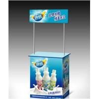 Portable Trade Show Display Counter For Advertising Promotion PP ABS Aluminum Materials Manufactures