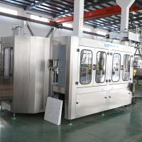 Water Rinsing Filling Capping 3 In 1 Monoblock Bottling Machine Full Automatic Manufactures