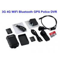 Remote Controller Police Body Worn Cameras For Police Officers With Black Color Manufactures