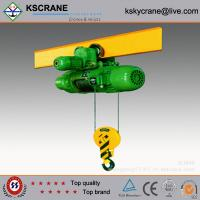 High Working Efficiency Light Duty Electric Trolley Hoist Manufactures