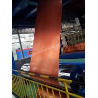 Glossy Surface Color Coated Aluminum Coil Abrasion Resistance High Flexibility Manufactures