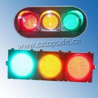 """400mm (16"""") Traffic Signal Lamp with 3 Full Ball (TP-JD400-3-403) Manufactures"""