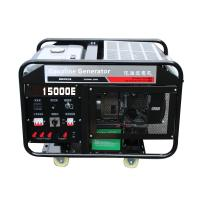 China Chongqing Power Electric 15kw portable gasoline generator set air cooling engine 2 cylinder on sale